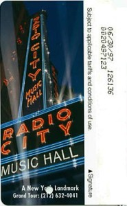 Radio City Music Hall 1st version