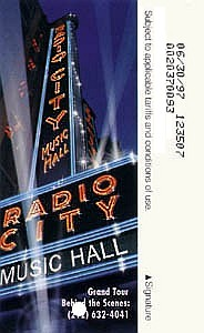 Radio City Music Hall 2nd version