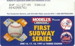 First Subway Series Logos
