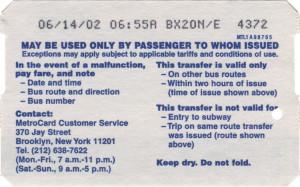 Bus Transfer 2003 Back