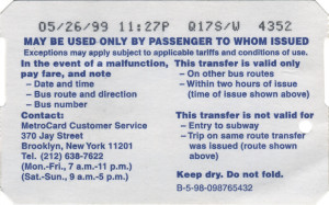 Bus Transfer 1999 Back