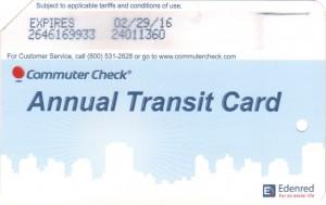 Commuter Metrocard