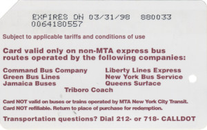 Queens Bus Back 1st version