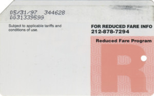Reduced Fare 1997 Back
