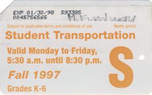 Fall 1997 Back