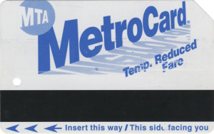 Temporary Reduced Fare AutoGate Front