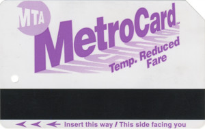 Temporary Reduced Fare 2002 Front