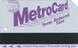 Temporary Reduced Fare 2005 Front