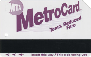 Temporary Reduced Fare 1998 Front