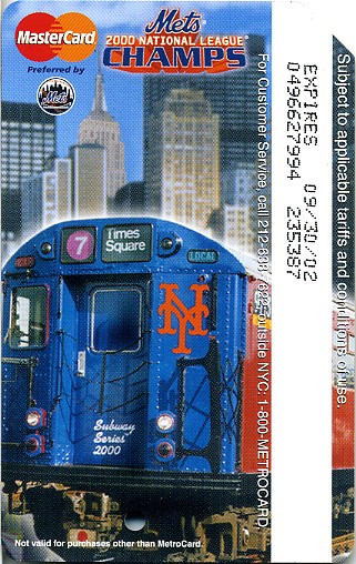 Nyc Transit Metrocard Unofficial Web Site 183 2001