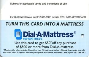 Dial-a-Matress