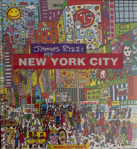 Cover of James Rizzi book