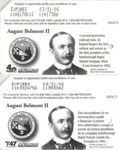 August Belmont II