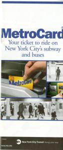 Metrocard Brochure