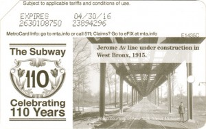 Subway 110 years - Bronx