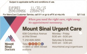 Mount Sinai Urgent Care