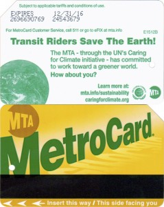 Transit riders save the earth